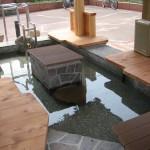 Footbath in front of Hamasaka Station