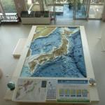 日本列島ジオラマ